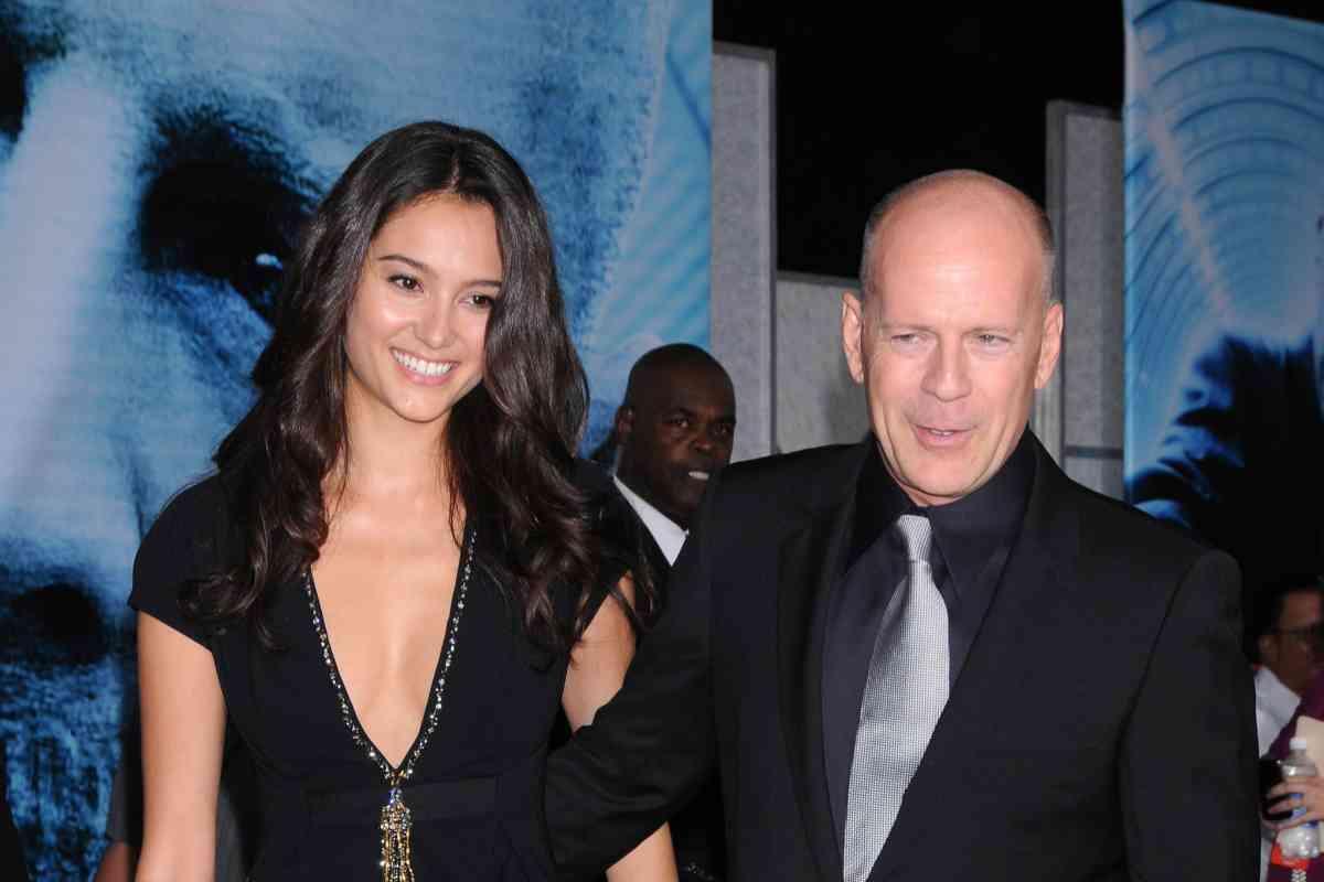 El actor y su actual mujer, la modelo Emma Heming.