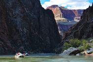 Rafting en el Grand Canyon.