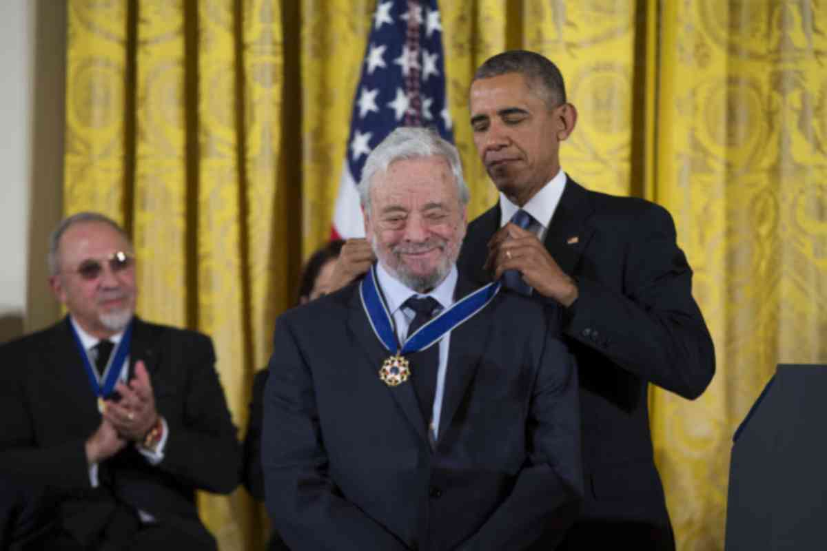 Barack Obama le otorga al compositor la Medalla de la libertad en 2015.