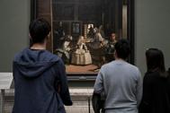'Las Meninas' de Velázquez, en el Museo del Prado.