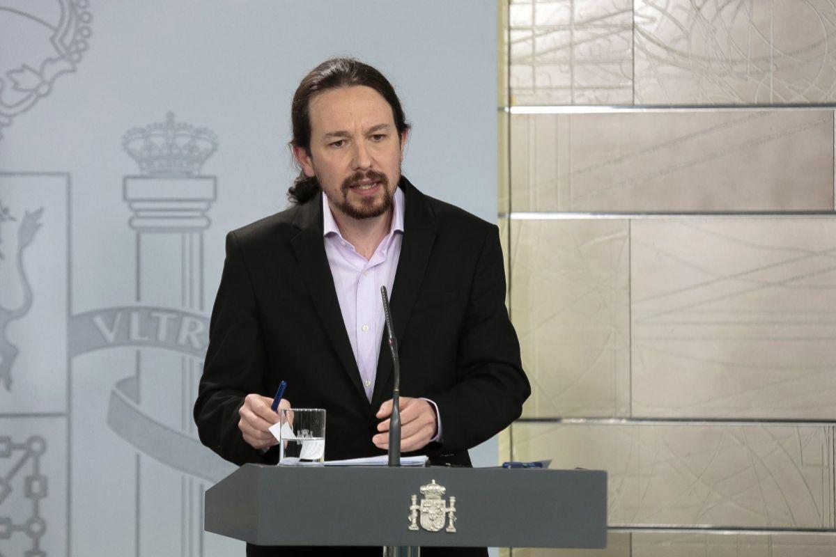 Pablo Iglesias evidencia las tensiones en el Gobierno y exhibe protagonismo