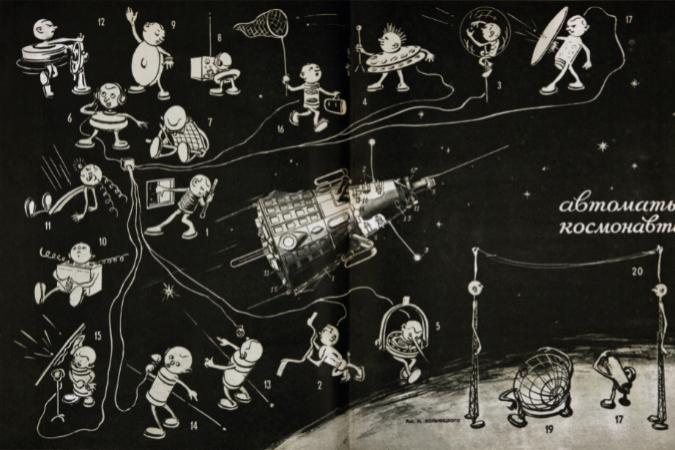 'Máquinas-astronautas'