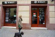 Establecimiento de la cadena de estética Be Beauty, en Madrid.