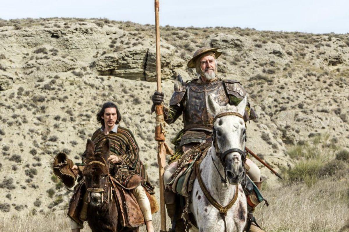 Adam Driver y Jonathan Pryce en 'El hombre que mató a Don Quijote', de Terry Gilliam.