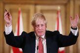 """Boris Johnson defiende la apertura de los parques """"por la salud física y mental"""" de los británicos"""