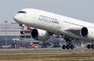 Una aeronave de Airbus