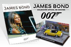 """Colección Coches James Bond. Sábado 28 """"MGB"""" por sólo 9,95 euros"""