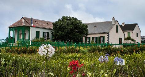 La casa de Santa Elena en la que estuvo recluido Napoleón.