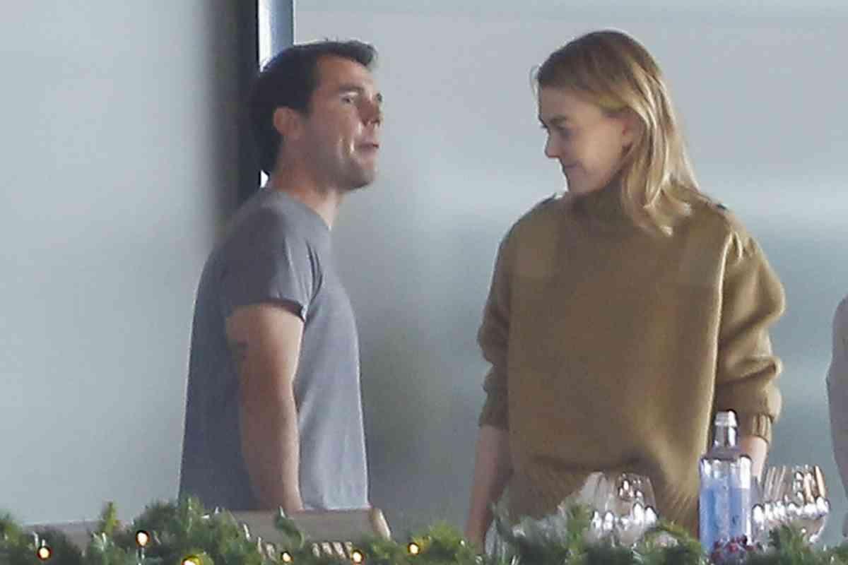 La hija de Amancio Ortega, junto a su ex marido, Sergio Álvarez Moya.
