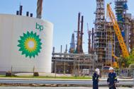 Refinería BP en Castellón.
