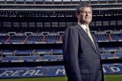 Fernando Martín, en el Bernabéu, en una imagen de archivo.