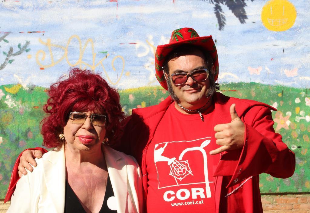 Carmen de Mairena y Ariel Santamaría, de la Coordinadora Reusenca Independent (CORI)