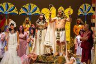 'La corte de Faraón' fue muy popular en su estreno por sus pegadizas melodías y divertidos equívocos picantes. Por ello, fue censurada durante el franquismo.