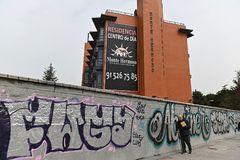 Imagen de la residencia de ancianos Monte Hermoso, en Madrid.