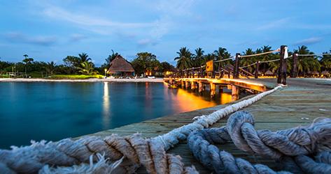 La isla de Cozumel.