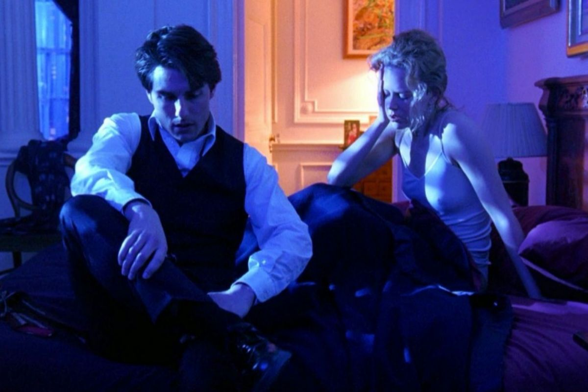 Tom Cruise y Nicole Kidman en una escena de 'Eyes Wide Shut' de Stanley Kubrick.