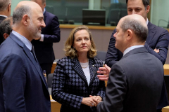 Reunión del Eurogrupo en Bruselas