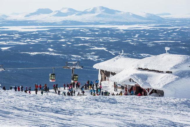 """""""Con las estaciones de esquí abiertas en Suecia, las zonas de montaña pueden convertirse en la Lombardía italiana"""""""