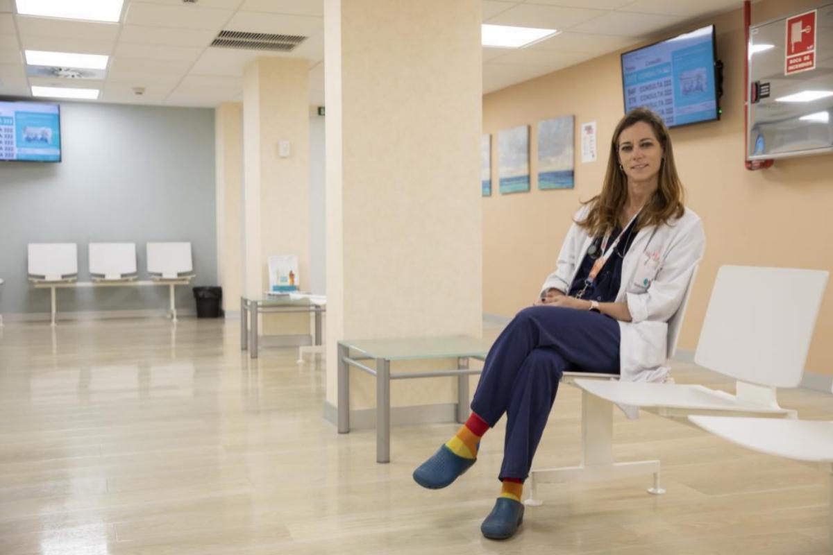 Esther Holgado es jefa de servicio en un hospital madrileño