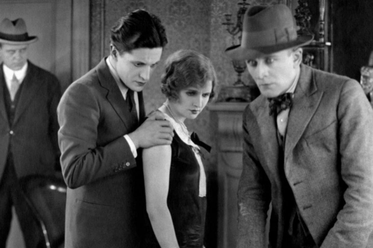'El enemigo de las rubias' (1927).