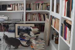Biblioteca particular en un domicilio del centro de Madrid.