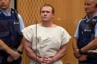Brenton Tarrant , en una vista ante el tribunal el pasado 16 de marzo.