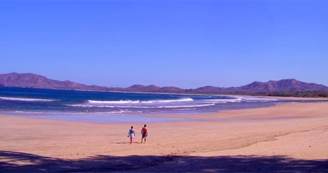 Vistas desde el Tamarindo Diria Beach Resort, en Costa Rica.