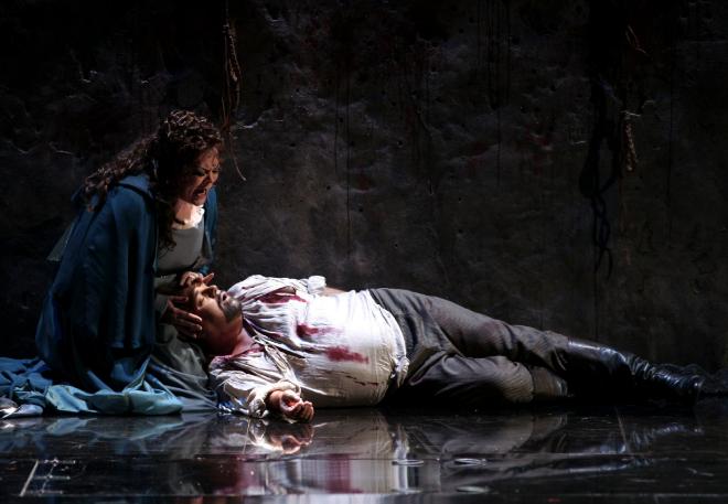 Adaptación de 'El holandés errante' de Wagner a cargo de La Fura dels Baus.