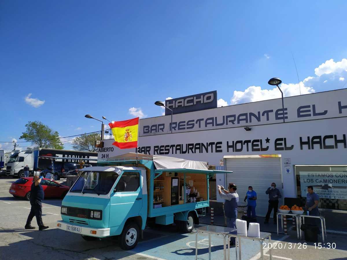 El Hacho tiene, además de un restaurante, un hotel con 11 habitaciones