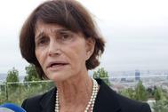 María Teresa Borbón Parma durante una entrevista en 2010.