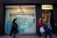 Tienda de Lladró en Valencia.
