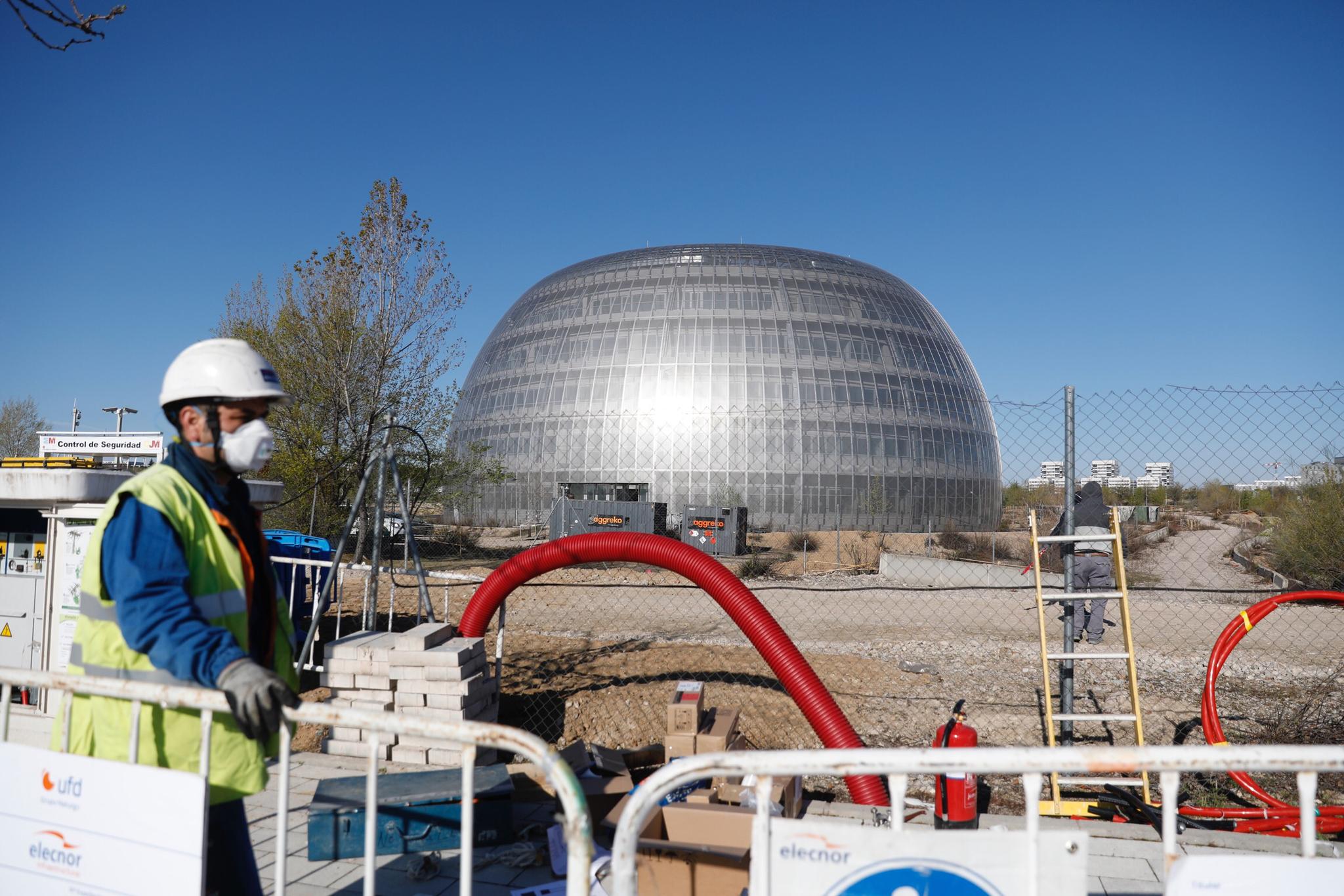 La Comunidad de Madrid prepara una segunda morgue en la Ciudad de la Justicia de Valdebebas