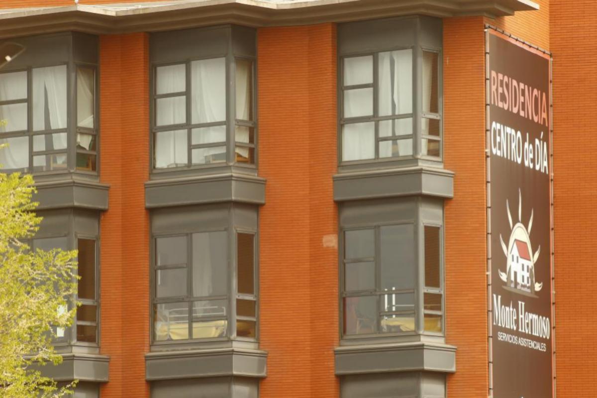 La residencia de ancianos Monte Hermoso, en Madrid.