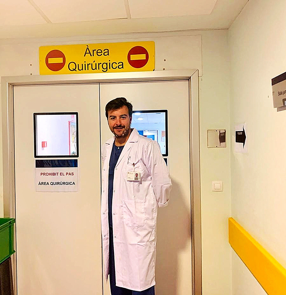 El cirujano ortopédico y traumatólogo mallorquín Joan Antoni Roig.