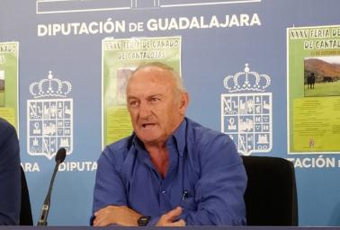 El alcalde de Cantalojas (Guadalajara), Narciso Arranz.