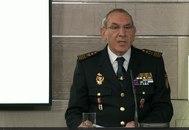 El director adjunto operativo de la Policía Nacional, José Ángel González, este sábado, en la rueda del prensa del comité de gestión del coronavirus.