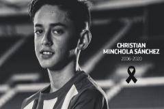 Muere el canterano del Atlético de Madrid Christian Minchola a los 14 años