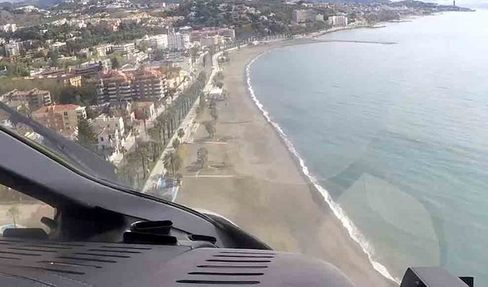 La Málaga confinada, a vista de pájaro: así han cambiado nuestras ciudades