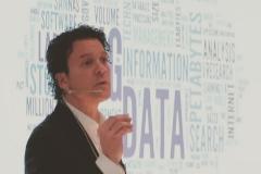 Carles Calaf, durante una de sus conferencias.