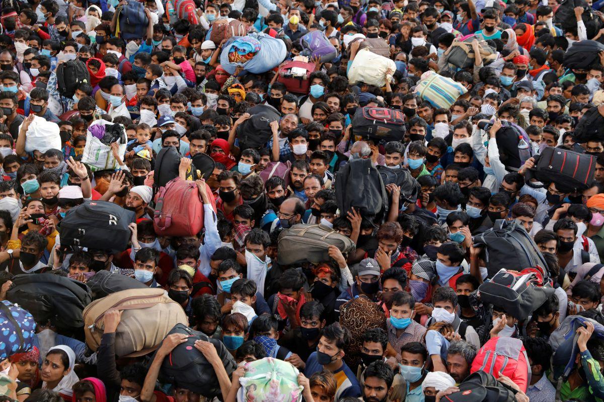 Cuarentena en India: la casta era estar solo