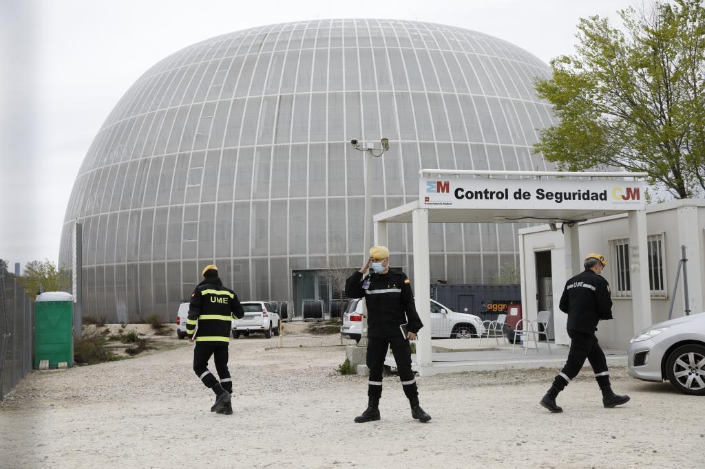 La nueva morgue en la Ciudad de la Justicia de Madrid.