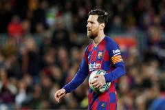 Leo Messi, capitán del Barcelona.