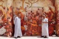 Los pescadores convertidos en grafiteros del pequeño pueblo de Borg el Borolos