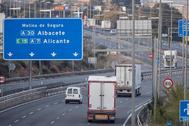 Transportistas: quién puede seguir circulando y vías afectadas por la nieve