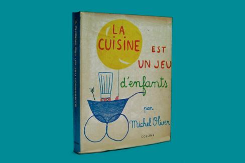 Ejemplar del célebre libro de cocina de Michel Oliver dedicado a los niños