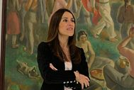 La presidenta del Parlamento Vasco Bakartxo Tejeria.