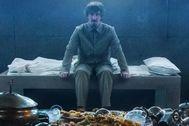 Ivan Massagué en una escena de 'El hoyo', que arrasa en Netflix.