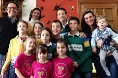 La familia Cebrián Gervas de Valladolid, de 13 miembros, todos infectados de coronavirus.