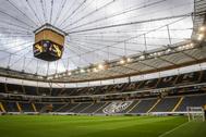 Una imagen del estadio del Eintracht Frankfurt.