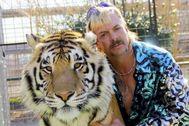 Un momento de 'Tiger king'.